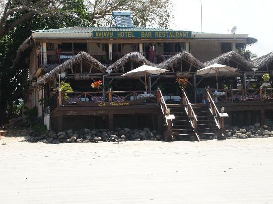 Aviavy Hotel: L'hotel AVIAVY vue plage