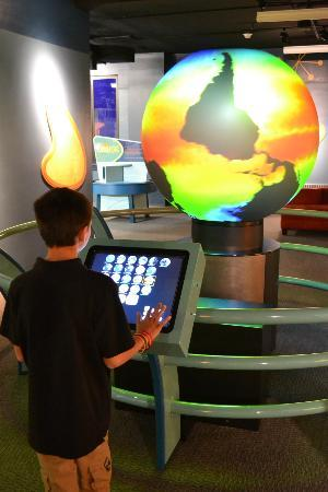 Buffalo Museum of Science: Explore our planet's history and geological phenomena in Our Marvelous Earth.