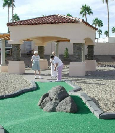 Mesa Spirit RV Resort: Golf