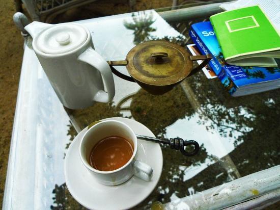 La Dame Rouge: tea