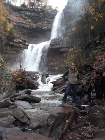 Kaaterskill Falls: Me at the falls