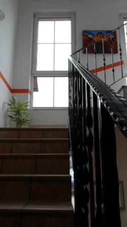 Treppenaufgang im City Hotel Chemnitz
