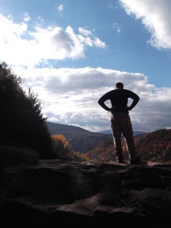 Kaaterskill Falls: At the top