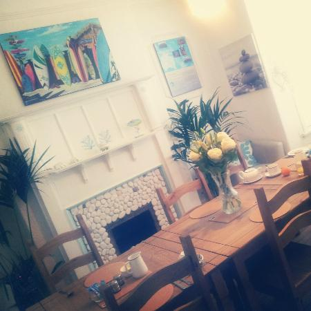 Aussie Beach Shack: The lovely breakfast room