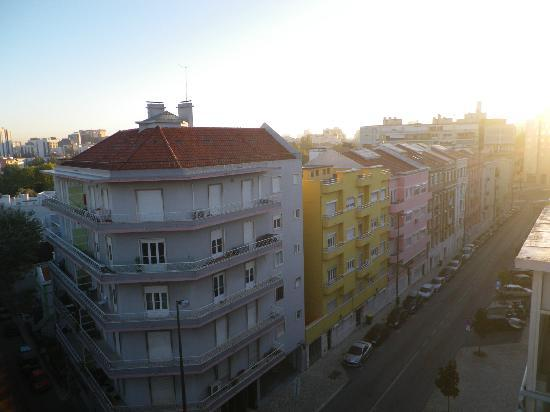 Real Residência - Apartamentos Turísticos: Vue du 6ème étage