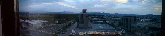 Radisson Blu Plaza Hotel Ljubljana: Aussicht