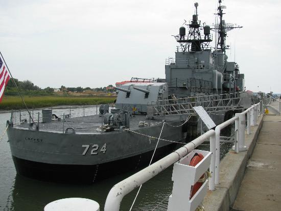 Patriots Point Naval & Maritime Museum: USS Laffey, a destroyer class vessel