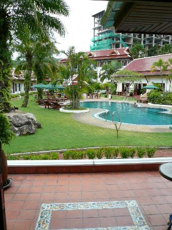 The Pe La Resort: View from Bungalow 1...