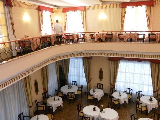 Hotel Salus: balconata