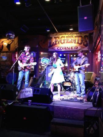 The Sid Yochim Band at Legends Corner.