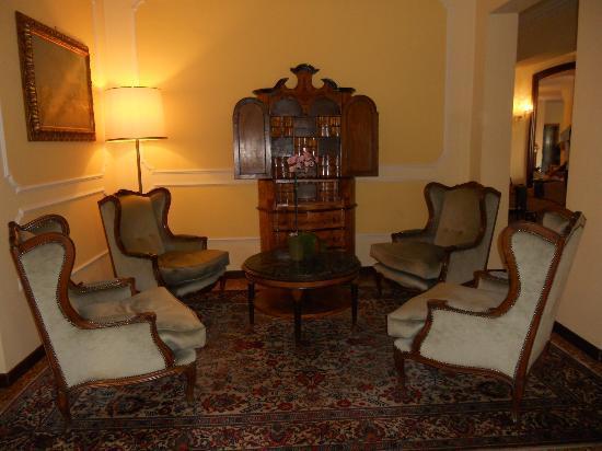 Hotel Salus: un salottino
