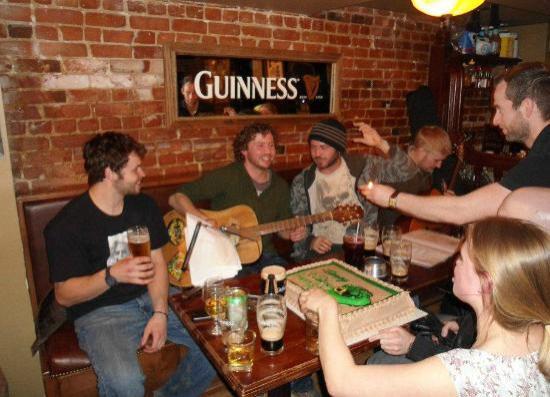 Fiddler's Green: Jam session!