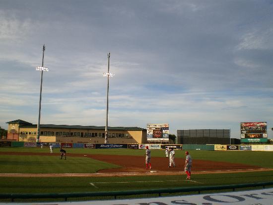 Roger Dean Stadium: First inning