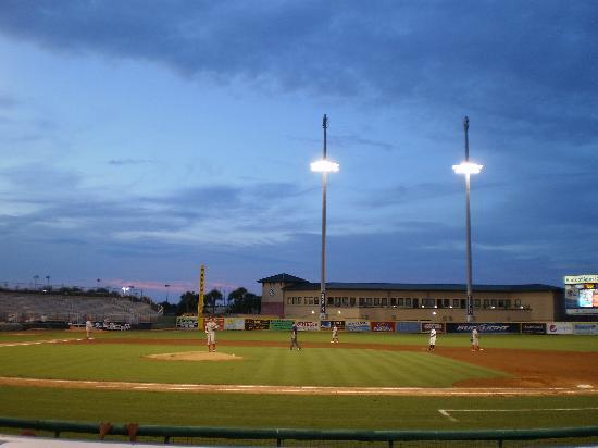 Roger Dean Stadium: Nighttime