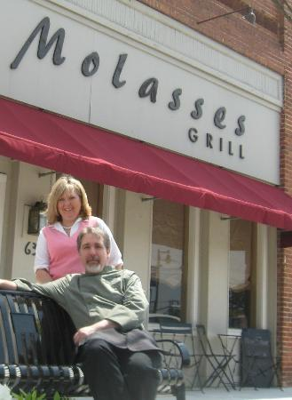 Molasses Grill: Owners, Karen Schopen & Chef Steve Schopen
