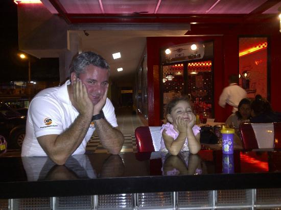 The Diner: anxiously waiting for their milk shake :)
