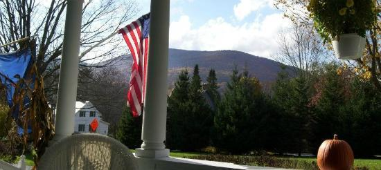 The Whitney House Inn: View from the front porch