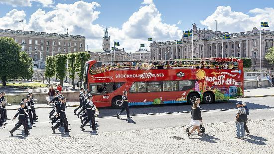 Stockholm Red Buses - Hop On Hop Off