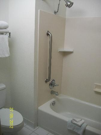 Fairfield Inn Salt Lake City Draper: Bathroom, great shower