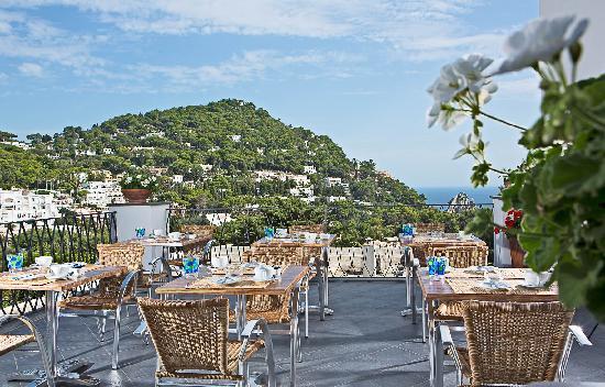 Hotel La Tosca: terrazza