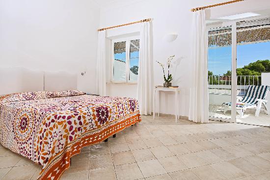 Hotel La Tosca: camera
