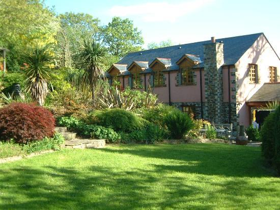 Chycara House: View of House & Gardens