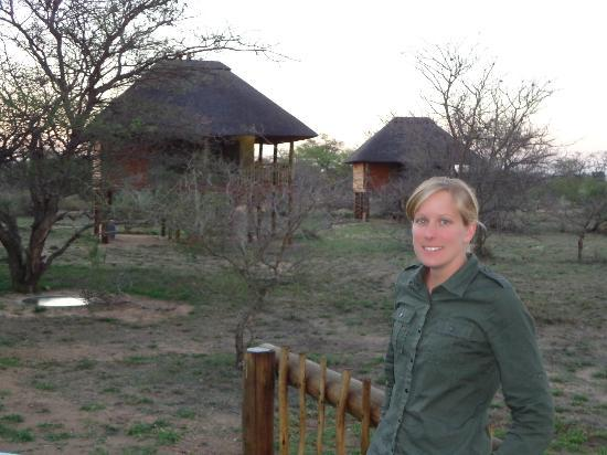 nThambo Tree Camp: stylish rooms on stilts in background