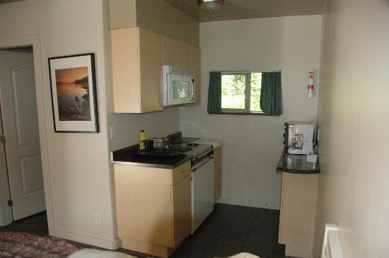 Hitching Post Motel: Einbauküche neu