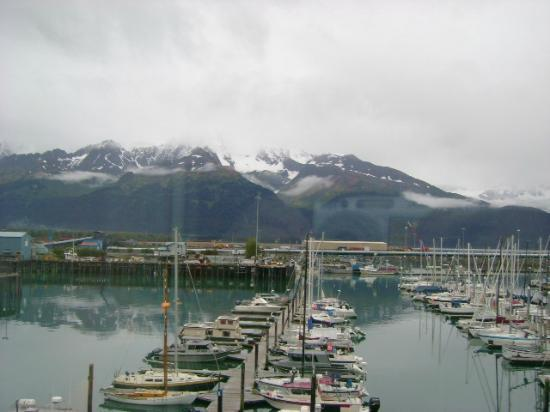 Harbor 360 Hotel: View of marina Seward
