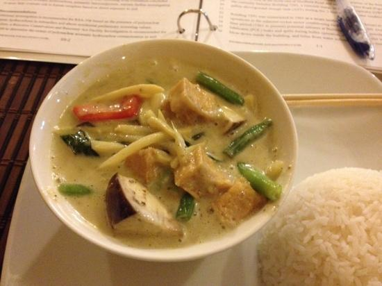 Thai Siam: green curry lunch