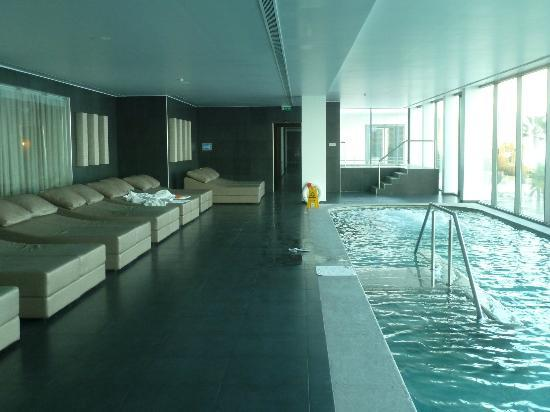 Vidamar Resort Madeira: Spa con bonita vista, agua bien calentita