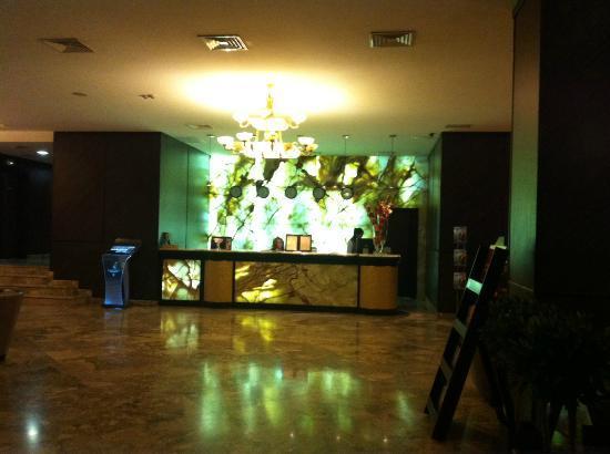 Khreschatyk Hotel: The entrance, reception