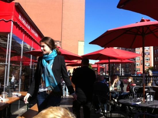 Harlem Tavern: HT- front entrance outdoor patio