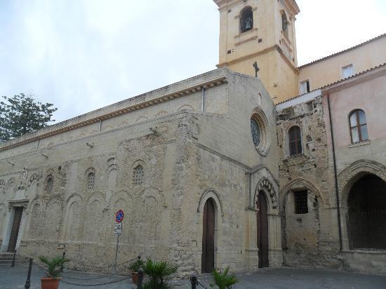 Plage de Tropea : cattedrale