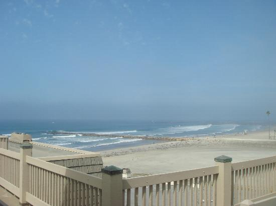 North Coast Village: Ocean view from upstairs balcony