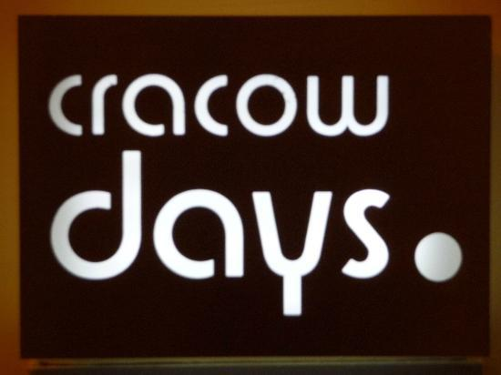 Cracowdays Apartments: Hotel Sign