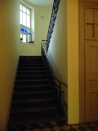 Cracowdays Apartments: Stairway up to office