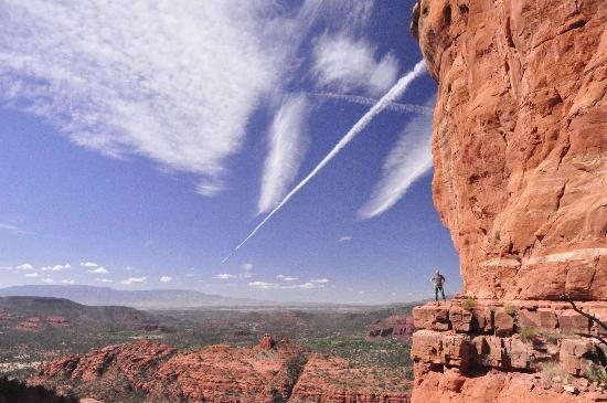 The Andante Inn of Sedona: Top of Cathedral Rock, go there...it's worth the effort!