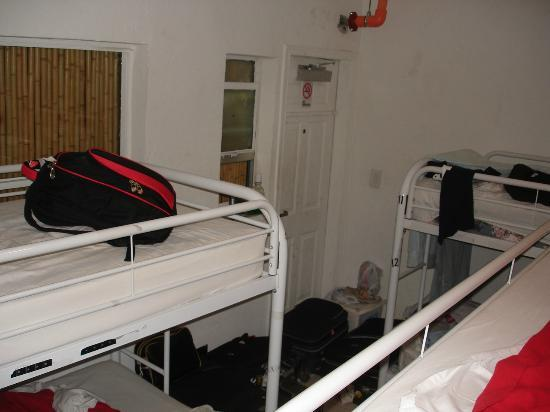 Miami Hostel: The 12 bedded dorm