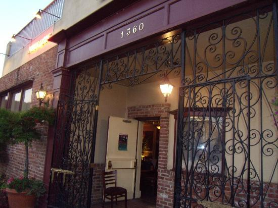 Iron Gate Restaurant Entrance