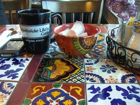 Westside Lilo's Cafe - die schönen Tische