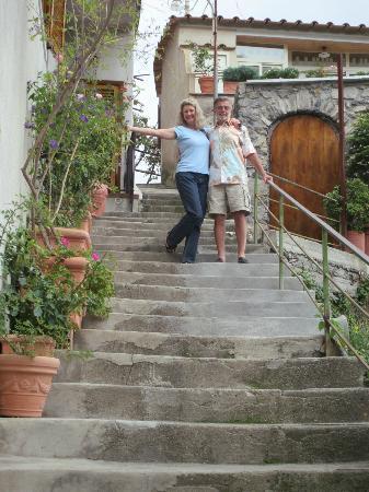 B&B Mamma Rosa Positano: the steps...it's worth it!
