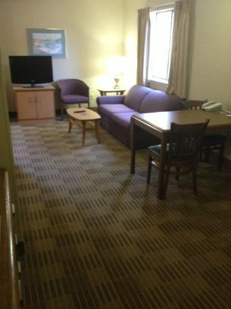 Extended Stay America - Greenville - Haywood Mall: Deluxe Suite Sitting Area
