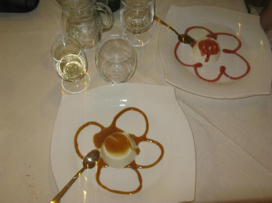 Isola Verde Ristorante: Dessert.