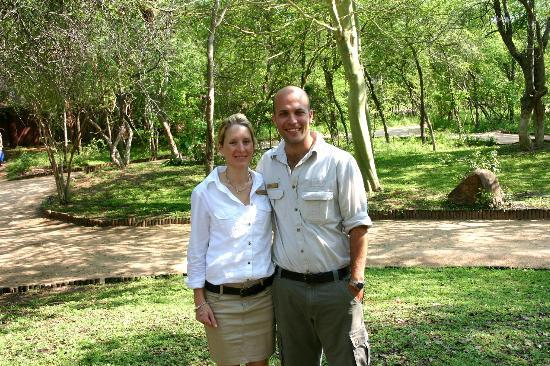 Idube Private Game Reserve Lodge: Lauren and Andrew