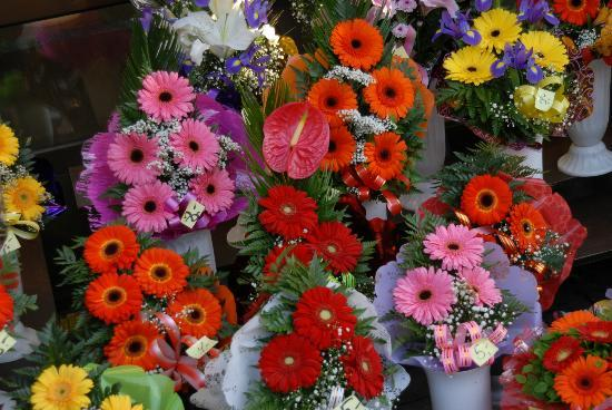 Mercato dei fiori a Viru Square