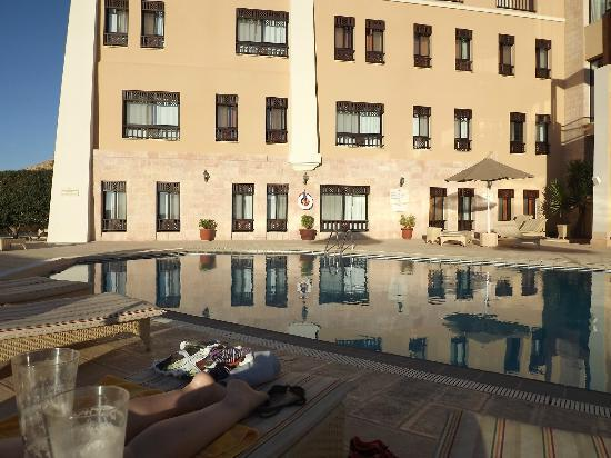 Marriott Petra Hotel: The (cold) Pool