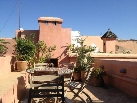 Riad Les Trois Cours: roof terrace
