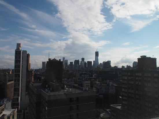 The Standard, East Village: view from our room on the 16th floor