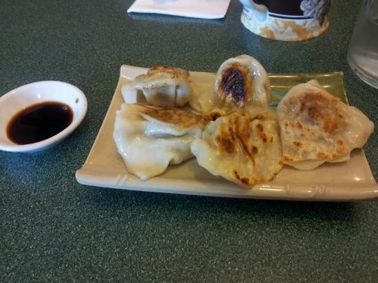Splendid Essence: Pan fried dumplings